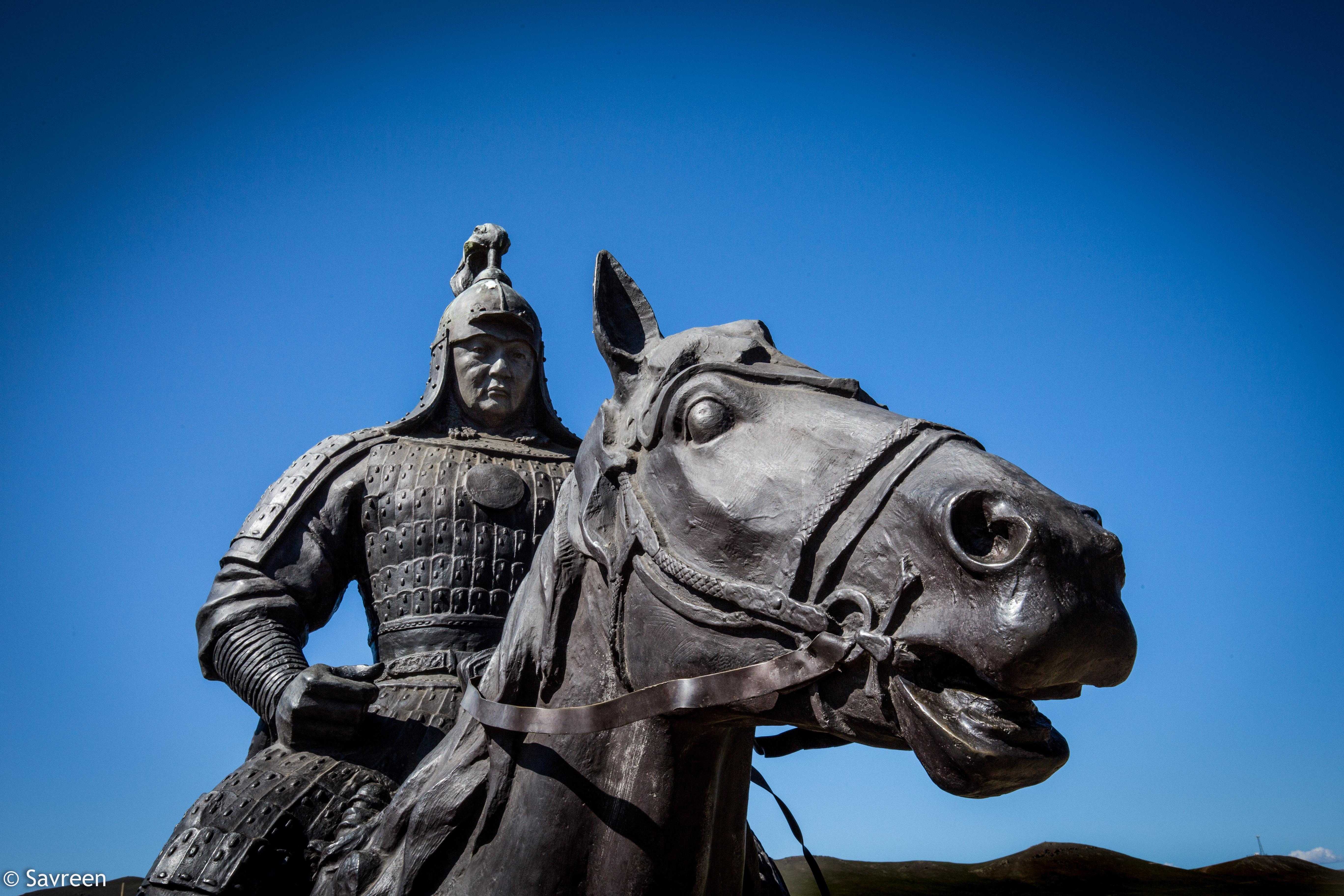 Chinggis Khan Statue