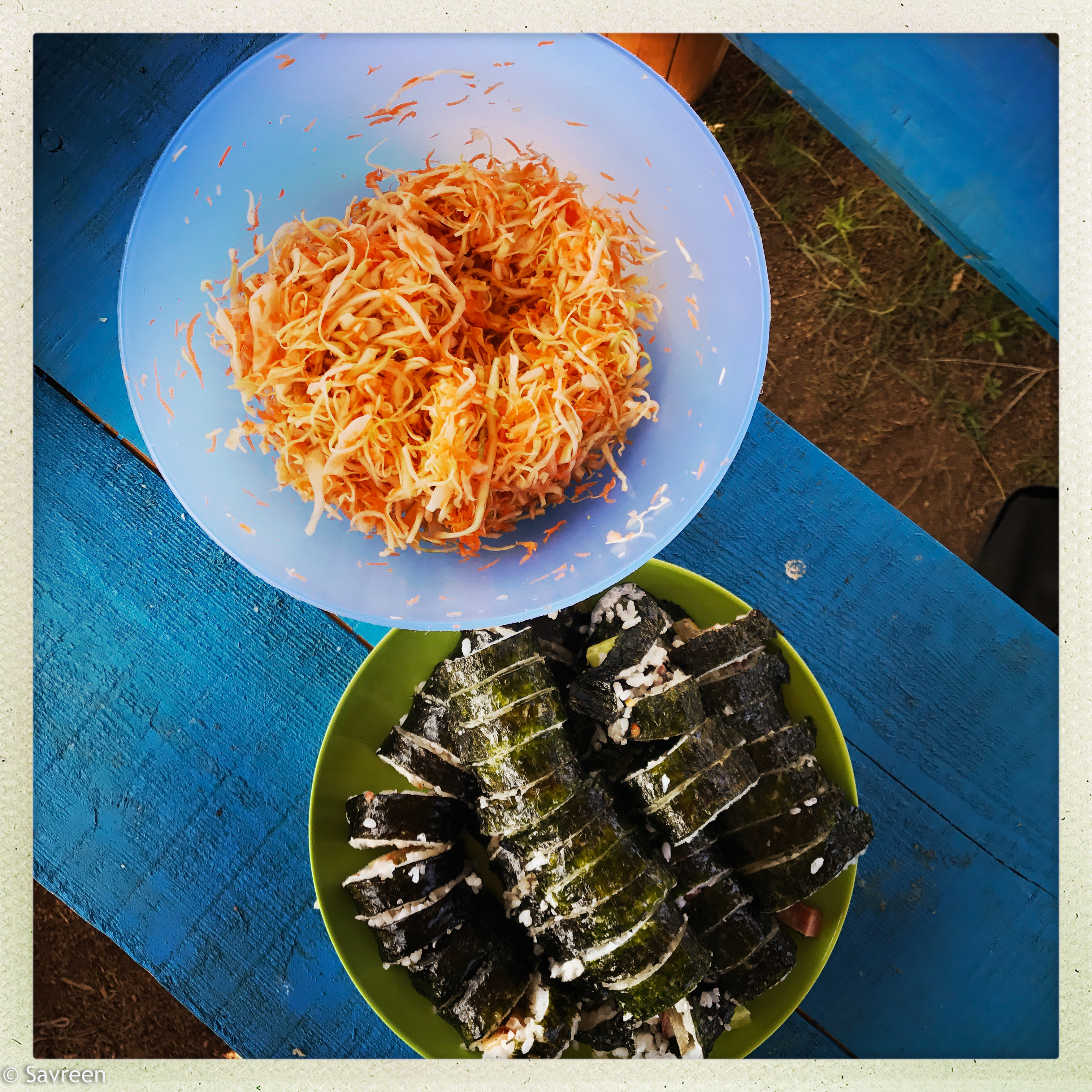 Home made Maki lunch