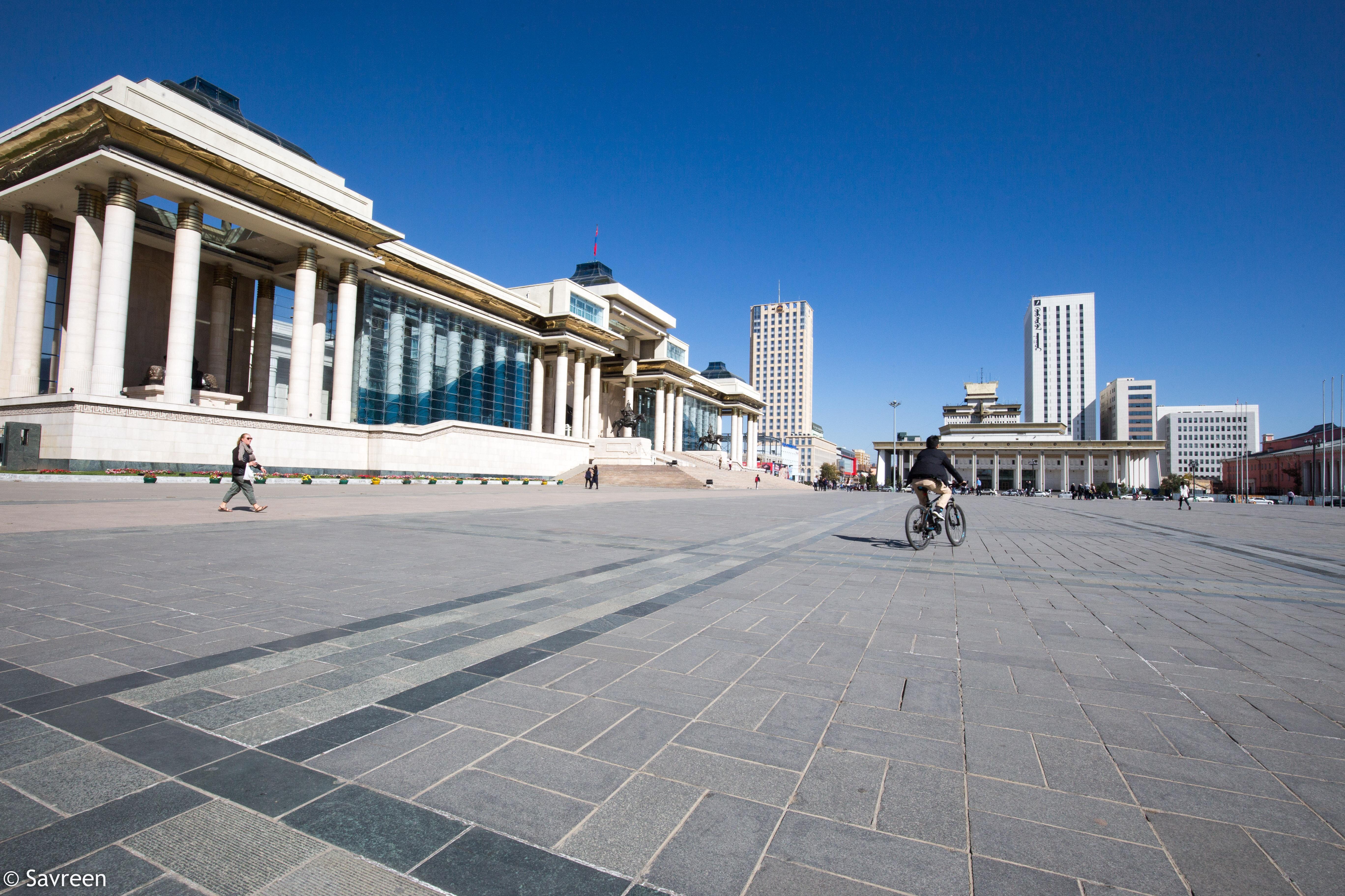 Chinggis Khan square