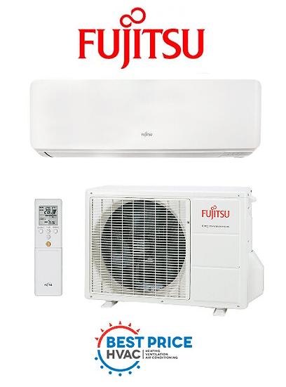 ASTG09KMTC - Fujitsu Hi-Wall Split Lifestyle Range 2.50kW
