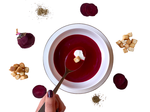 Betteraves et Gingembre | Beets and Ginger
