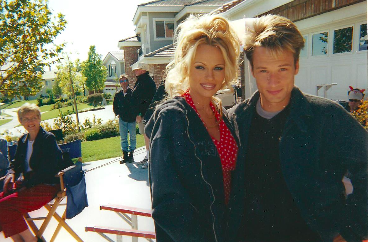 George Pilgrim, Pamela Anderson