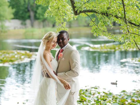 Česko-zimbabwská svatba | statek Kloubek