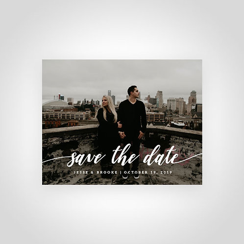 Photo Save the Date Design