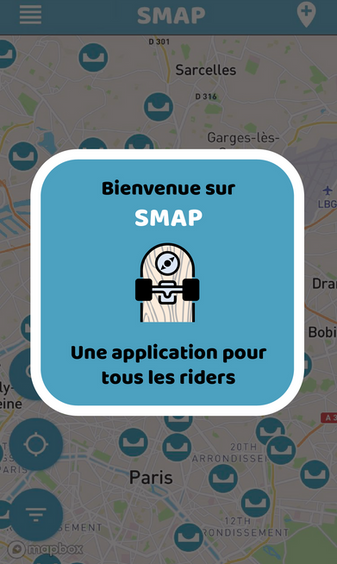 Smap application welcome