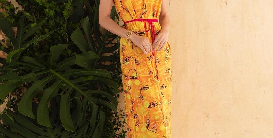 Vestido oriental Raio de Sol