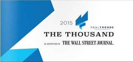RealTrends Top 1,000 Wall Street Journal