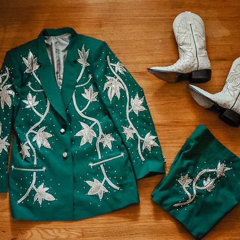 Greener Pastures Suit