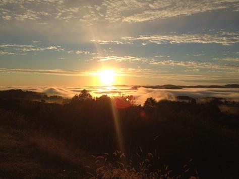 Sunrise on Afton Mountain