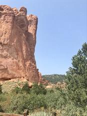 Meditating Stone Mountain Spirit