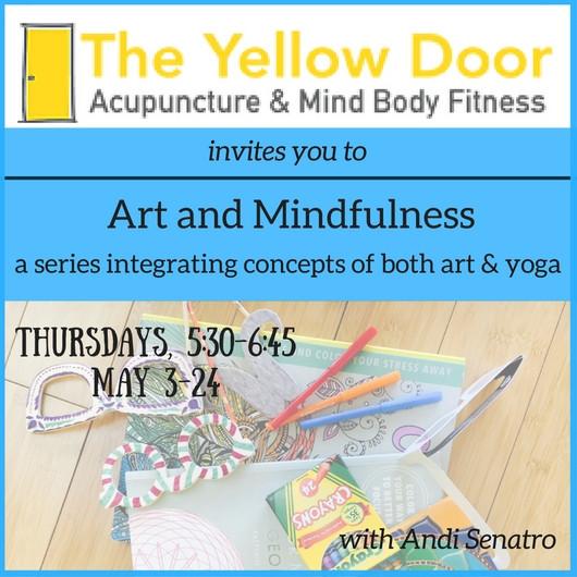 art and mindfulness invitation