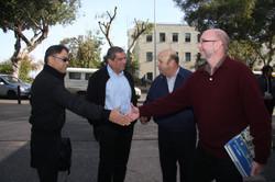 שלמה קוגן תרומה לעיריית חיפה
