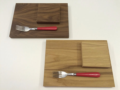 Oak & Walnut veneer placemats