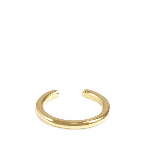 Bague demi lune or 750°