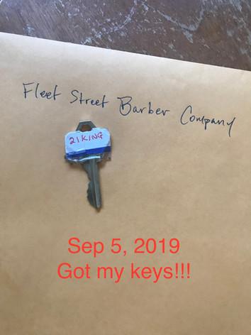 Got my keys!