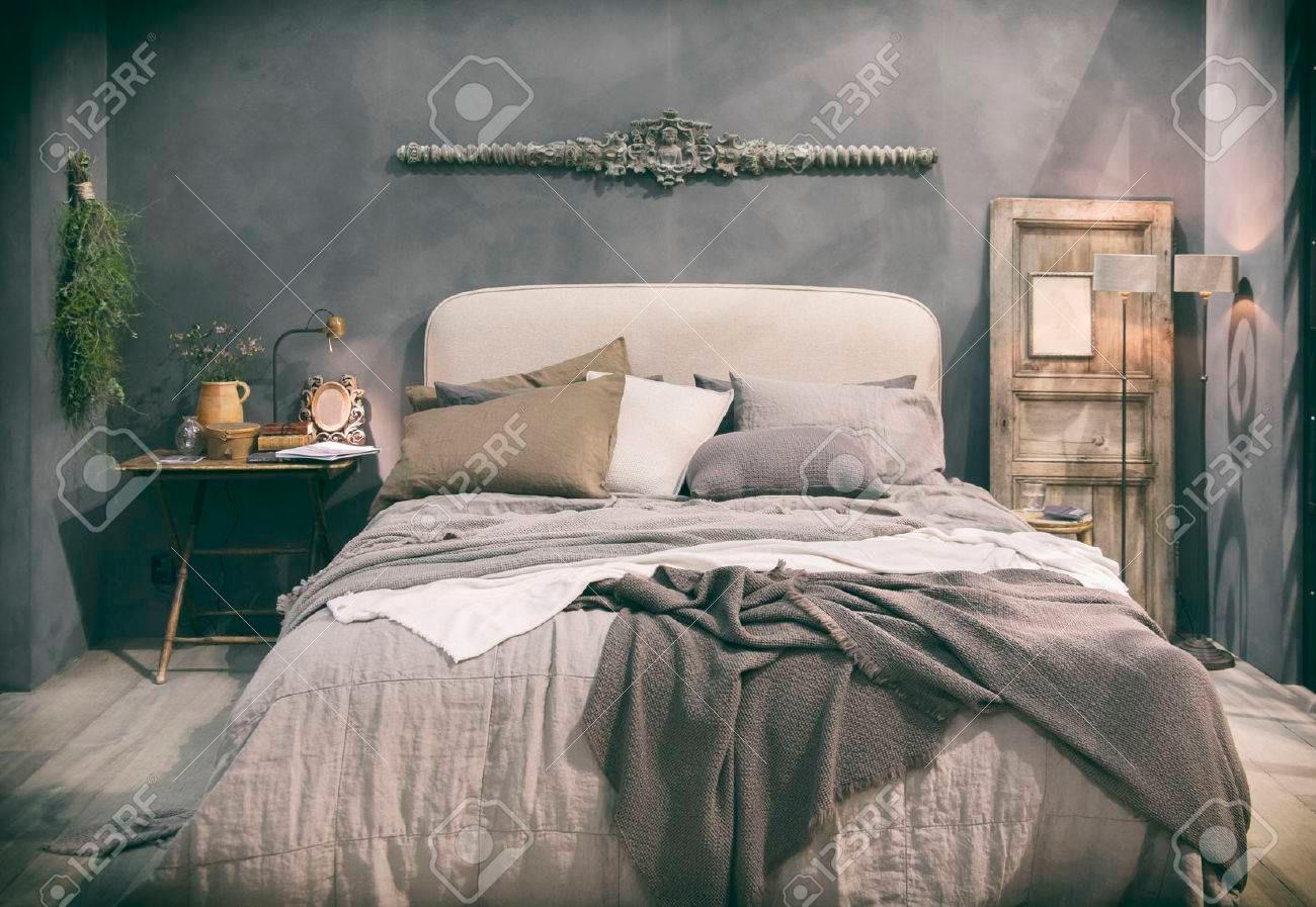 47793291-detail-van-thuis-slaapkamer-in-