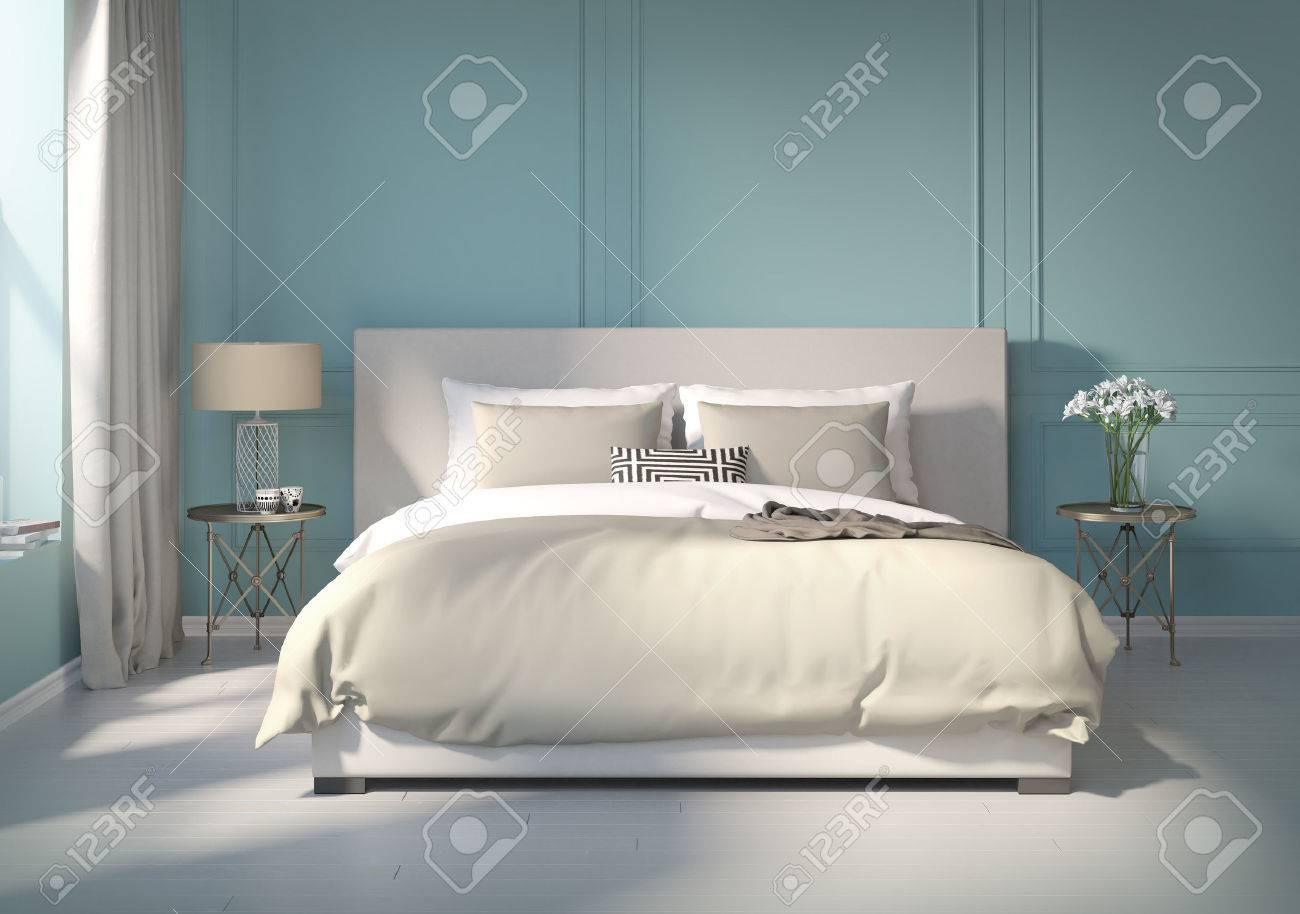 56220870-klassieke-blauwe-slaapkamer-met