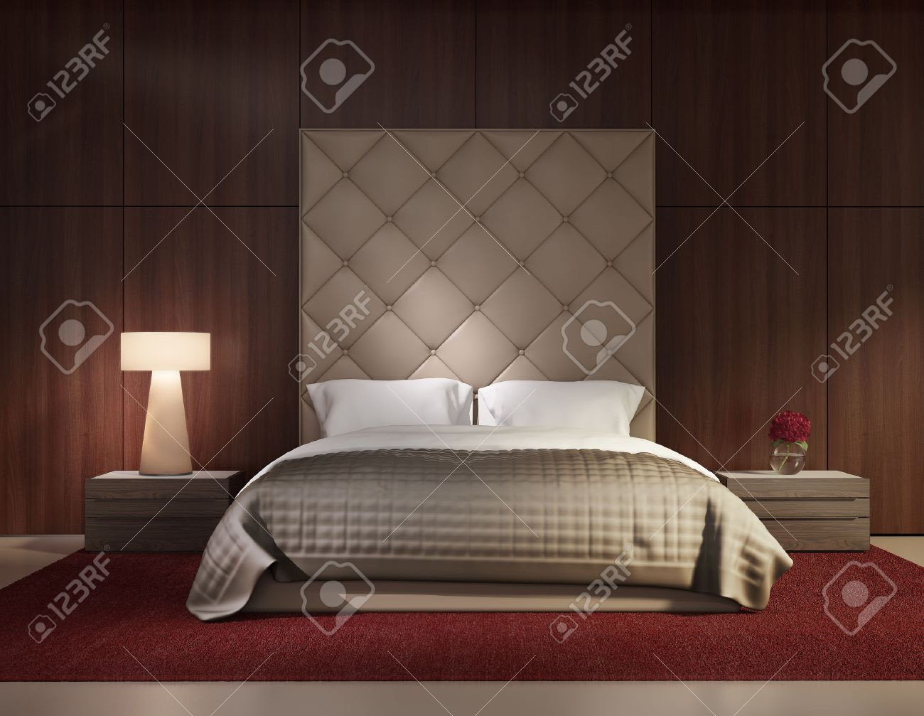 23962378-minimale-moderne-slaapkamer-lux