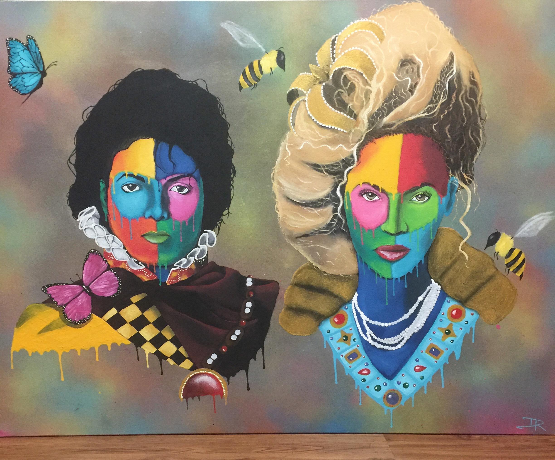 Michael Jackson & Beyonce