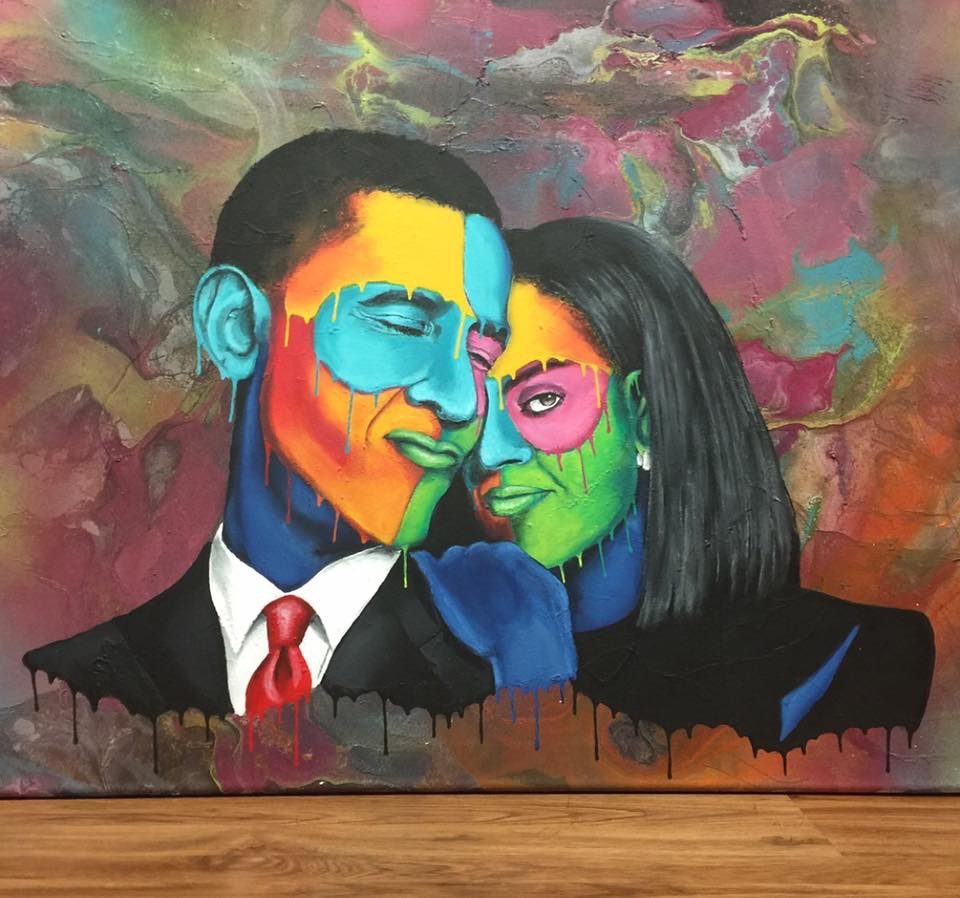 President Barack and Michelle Obama