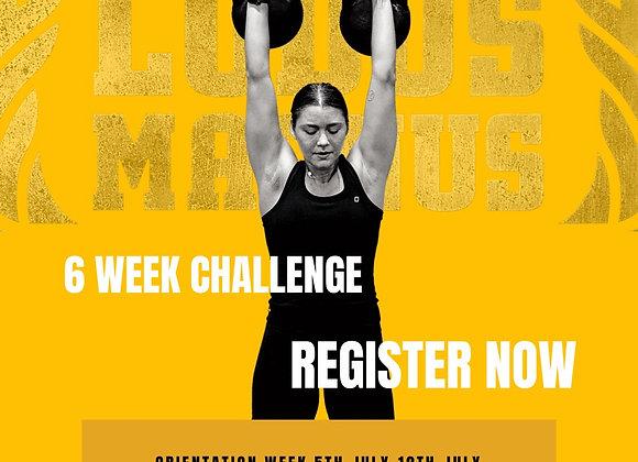 6 Week Challenge (Members)