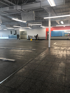 BLINK GYM CLEANINGS POST CONSTRUCTION