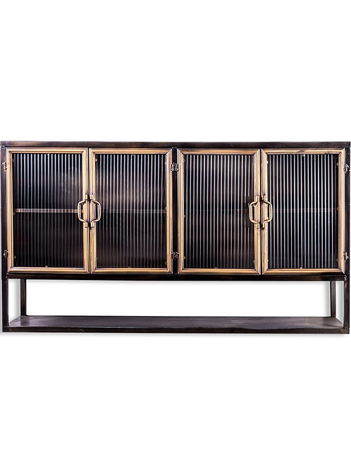 Berlin Wide Metal Wall Cabinet