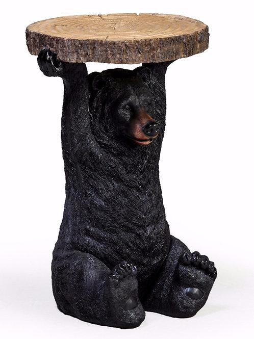 Black Bear Side Table