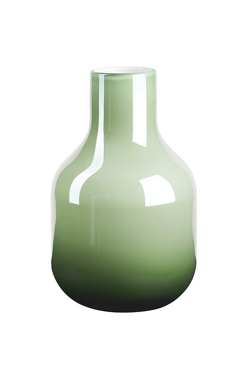 Green Pearl Glass Vase