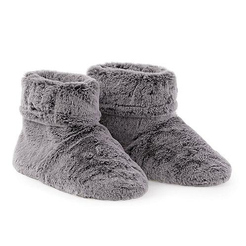 Faux Fur Microwaveable Slippers