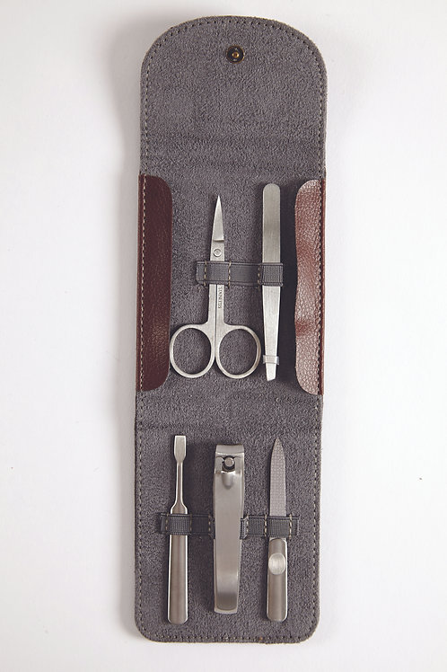Brompton & Langley Mens 5 Pc Manicure Set