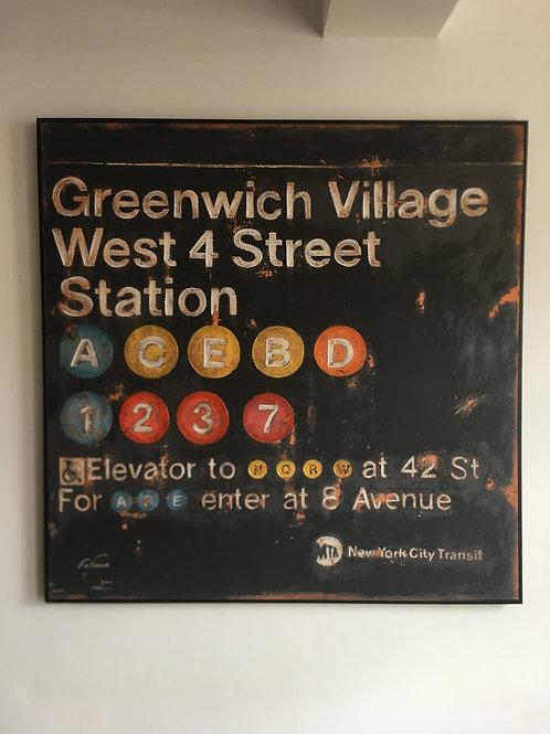the Village NY Canvas
