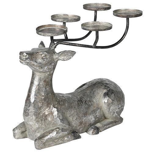 Lying Deer Candle Holder