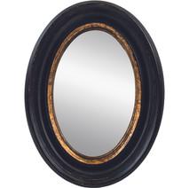 Convex Oval Mirror 32cm