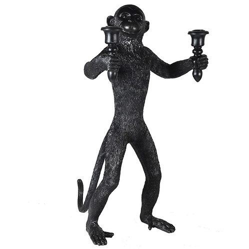 Monkey Standing Candle Holder