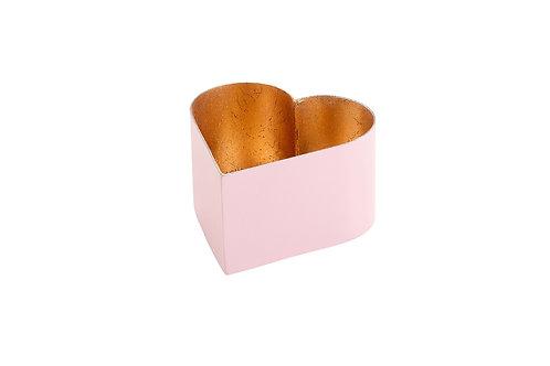 Light Pink Heart Tea Light Holder