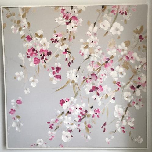 Cherry Blossom Art Canvas