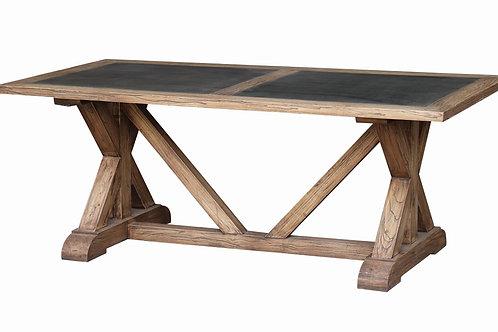 St Etienne Old Elm Dining Table