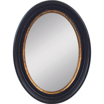 Convex Oval Mirror 42cm