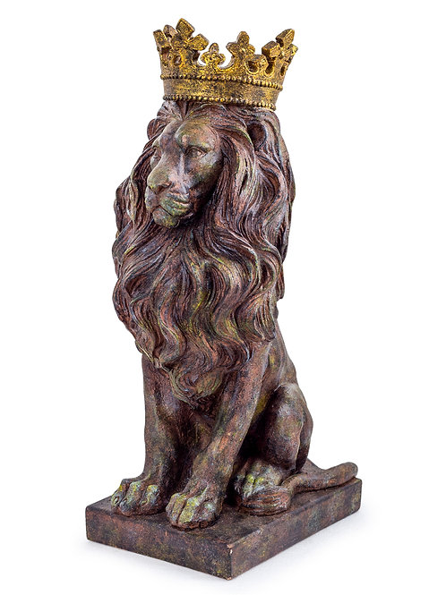 The Crowned Lion King