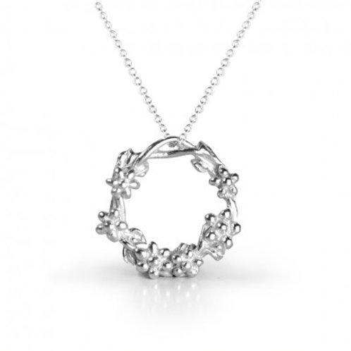 Inner Goddess Silver Necklace