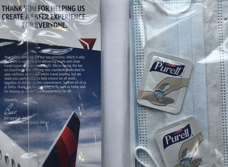 Delta to provide passengers with hygiene kits