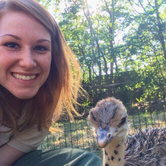 How one zookeeper finds comfort in caring for animals during the coronavirus pandemic