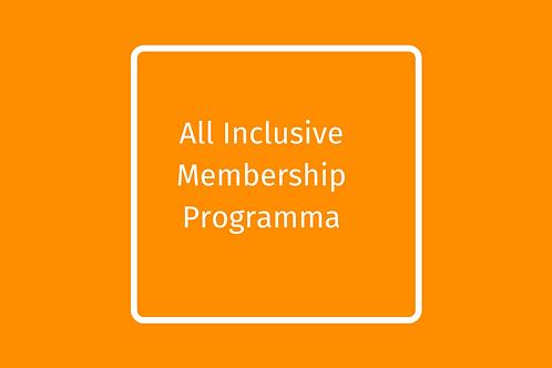 All Inclusive membership programma -jaarbedrag