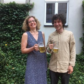1. Prize Andrea-Gebhard-Wettbewerb for Cellist Hannes Zeuner!