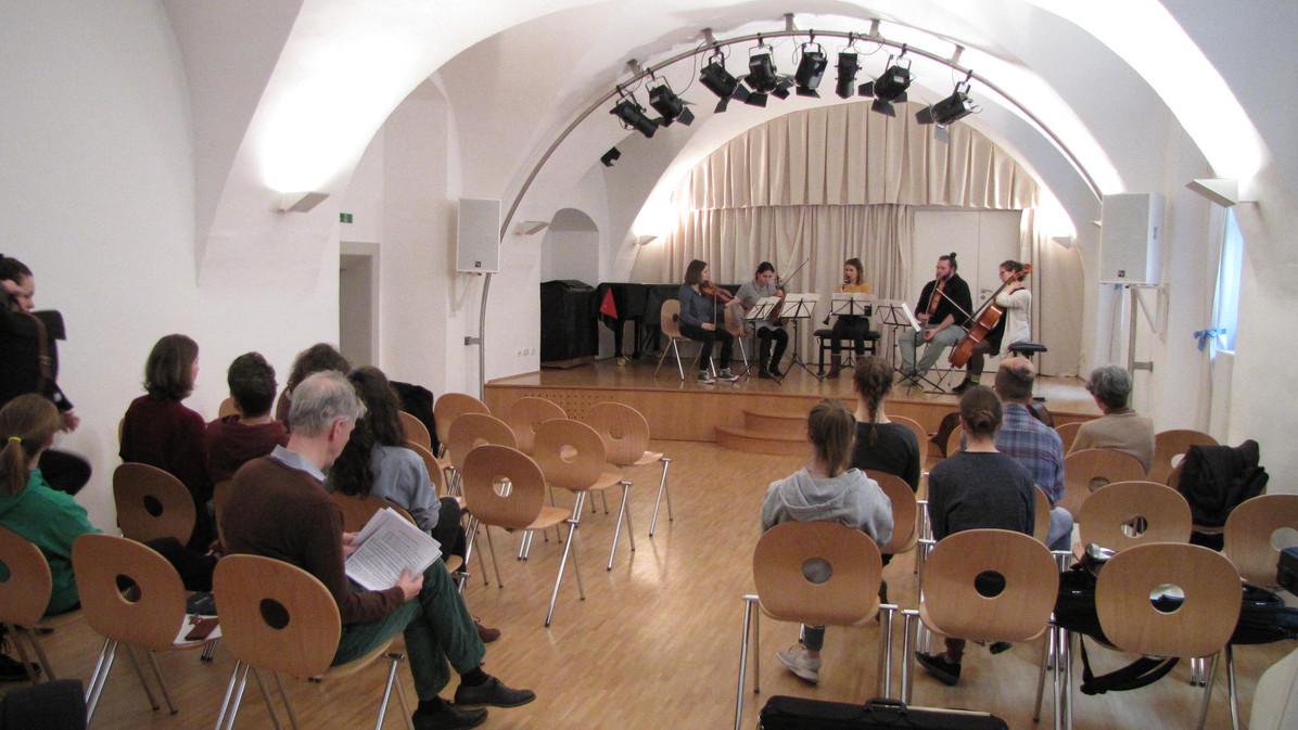 Kammermusikkurs mit Mathias Tacke