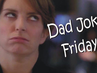Dad Joke Friday has just Landed!