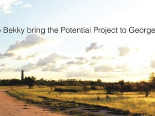 The Potential Project is coming to Georgetown, North Qld.