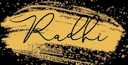 Radhi Blog Logo