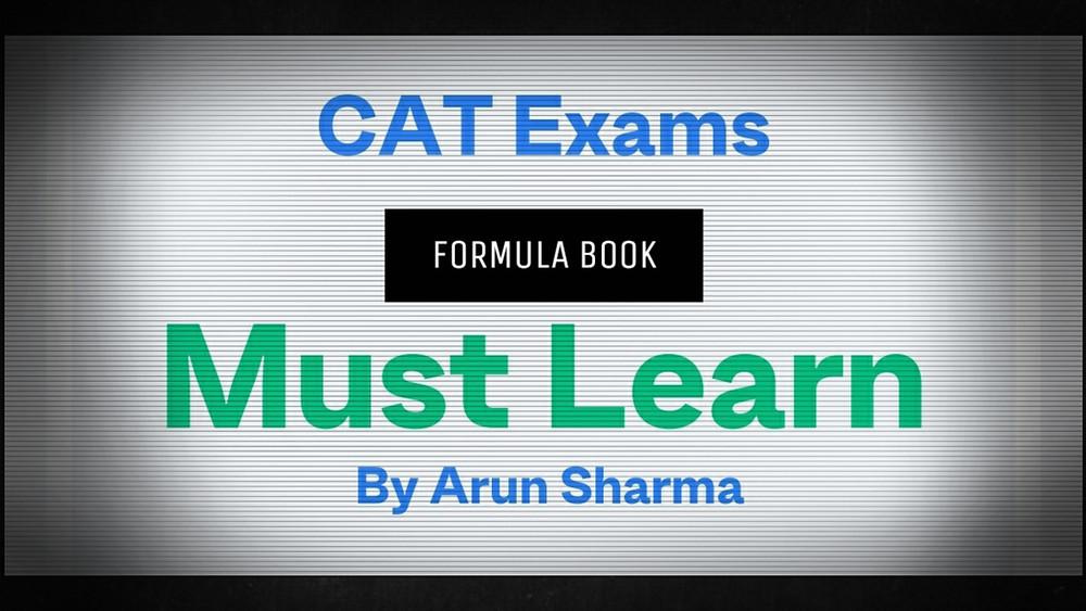 Arun Sharma Formula Book